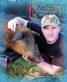 Wild Boar Hunt Report: April 26th, 2000
