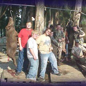 Wild Boar Hunt Report: February 27th, 2007