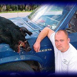 Wild Boar Hunt Report: January 28th, 2003