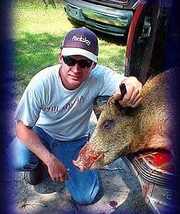 Wild Boar Hunt Report: September 11th, 2003